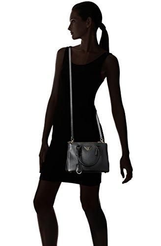 czech prada 1ba896 nzv womens saffiano lux handbag black one size amazon  shoes handbags ac7e4 41c9e 51628bb9db739