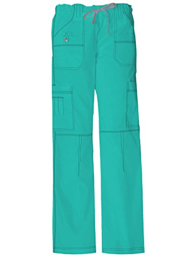 Dickies Women's Contemporary Youtility Cargo Pant_Peach Parfait_Medium,857455P Peaches Low Rise Pants