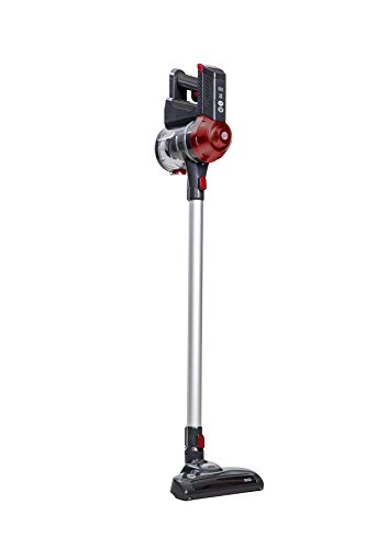 Hoover FD22RP Freedom Pets Lithium Cordless Stick Vacuum Cleaner, Grey/Red