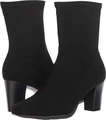 Aerosoles Women's Persimmon Mid Calf Boot, Black Fabric, 9.5 M US