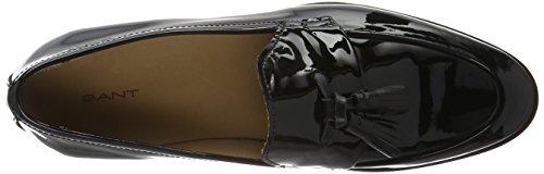 Gant Nicole, Mocasines para Mujer Negro - Schwarz (black G00)