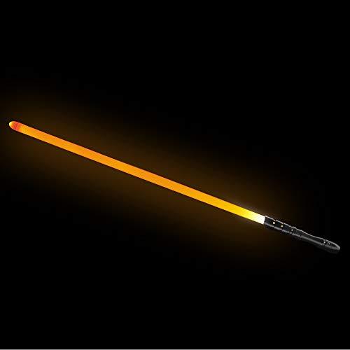 YDD LED Light Saber, Force FX Lightsaber with Sound and Light, Rechargeable Light Up Sword, Metal Hilt, Star Wars Toy for Man Kids (Black Hilt Orange Blade, Medium) by YDD (Image #7)
