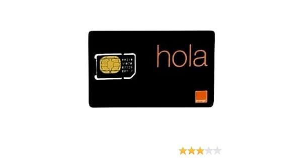 Orange PACKSIMT - Pack tarjeta SIM prepago para tablets: Amazon.es: Electrónica