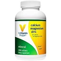 CalciumMagnesiumZinc with Vitamin D Supports Healthy Bones (300 Tablets)