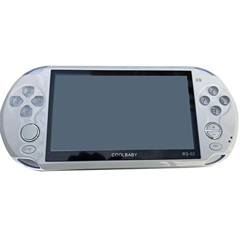 Portable Size 5.0 Inch Large Screen 8GB Game Console Handheld Game Player MP3 Player Gamepad With Classic Games by SeniorMar (Image #1)