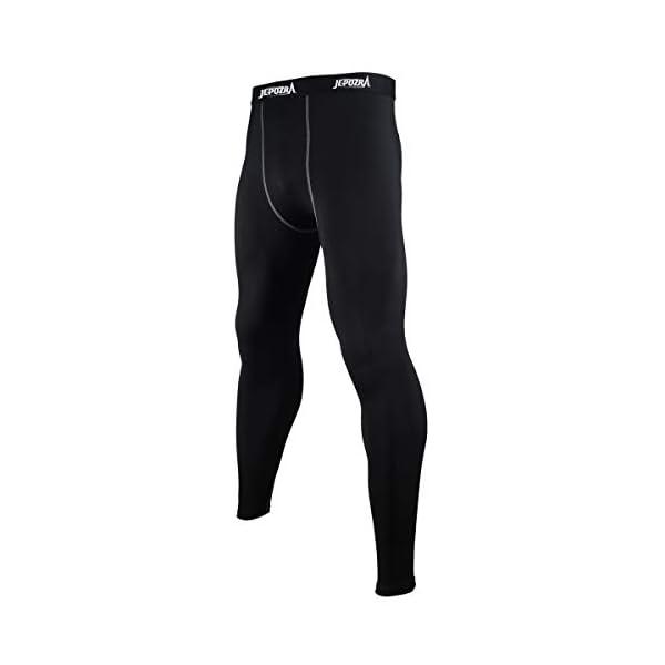 Legging Sport Homme Collant Running Fitness Pantalon de Compression Sport Pantalons pour Running Jogging Cyclisme Course