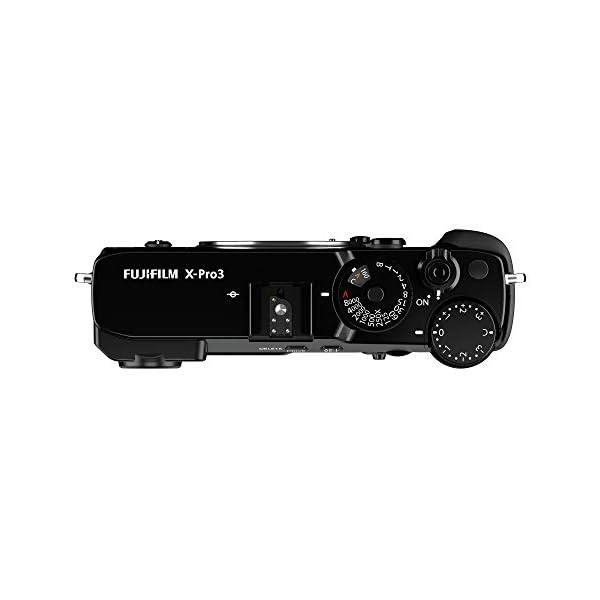 RetinaPix Fujifilm X-Pro3 26 MP Mirrorless Camera Body Only - Black (APS-C X-Trans CMOS4 Sensor, Hybrid OVF/EVF, LCD Screen, Low-Light AF, Film Simulation Modes, Weather Resistant, Motion Blur Reduction)
