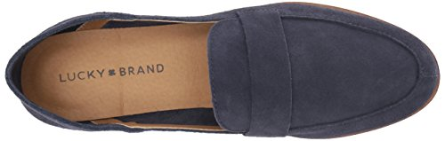 Lucky Brand Women's Lk-Chennie Loafer Moroccan Blue Tussm