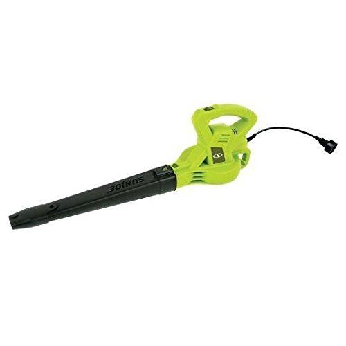 Sun Joe SBJ601E 10 Amp 215 Max MPH All-Purpose 2-Speed Electric Blower, Green