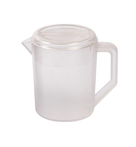 HERF Polycarbonate Plastic Water Pitcher Pot Jug 1.5L Transparent (Transparent Pitcher)