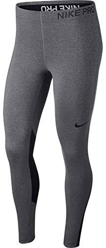Nike Pro Women's Training Tights (Charcoal Heather/Black/Black, Medium - Womens Nike Classic Pant