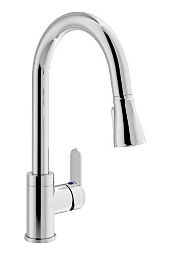 Symmons S-6710-PD-1.5 Identity Single Handle Pull-Down Kitchen Faucet, Chrome by Symmons