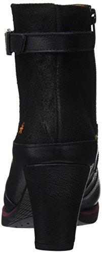 wax Black Art Women's St Tropez Shoes Black Memphis Heel wUq0Xw