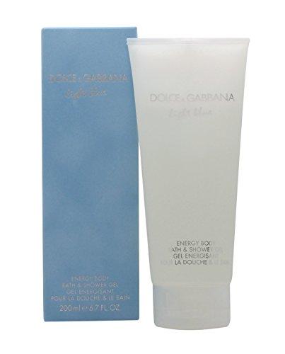 (D & G Light Blue By Dolce & Gabbana For Women. Shower Gel 6.7 oz)