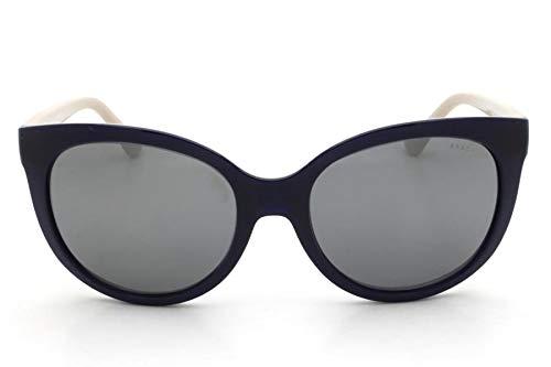 Óculos de Sol Grazi Massafera GZ4019 F342 Azul Lente Espelhada Prata Tam 56 f2544aeb46