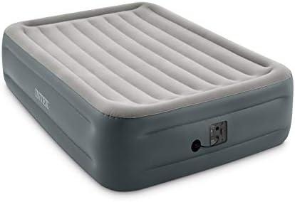 Intex Dura-Beam Series Essential Rest AirbedInternal Electric Pump Bed Height 18 Queen