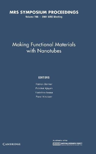 Making Functional Materials with Nanotubes: Volume 706 (MRS Proceedings)