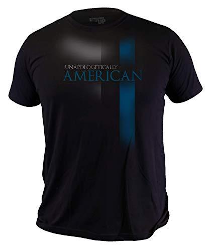 Ranger Up Thin Blue Line Sheep Dog T-Shirt (Large)