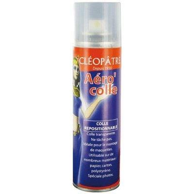 Cléopâtre Aero'Colle Aérosol de Colle repositionnable 250 ml