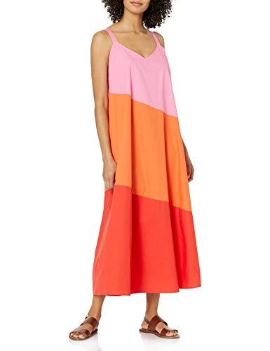Mud Pie Women's Mackenzie Maxi Dress, Pink, Large