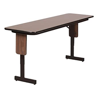 Amazoncom PanelLeg Training Table Adjustable Height W X - Adjustable height training table