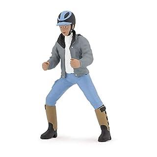 Papo Young Rider Figure, Multicolor