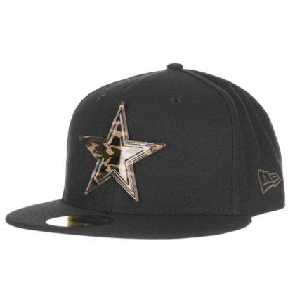 New Era Dallas Cowboys Camo Badge 59Fifty Cap - Buy Online in Oman ... 4da1a223c