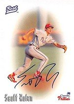 - Autograph Warehouse 301856 1996 Scott Rolen Autographed Baseball Card - Philadelphia Phillies