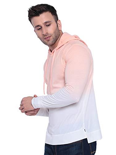 31UGPWwlWHL GRITSTONES Tan dye Hooded T-Shirt GSHDOMB2029-P