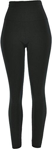 Back Zip Leggings - 2