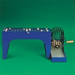 S&S Worldwide Speed-O-Matic Bingo Cage and Masterboard