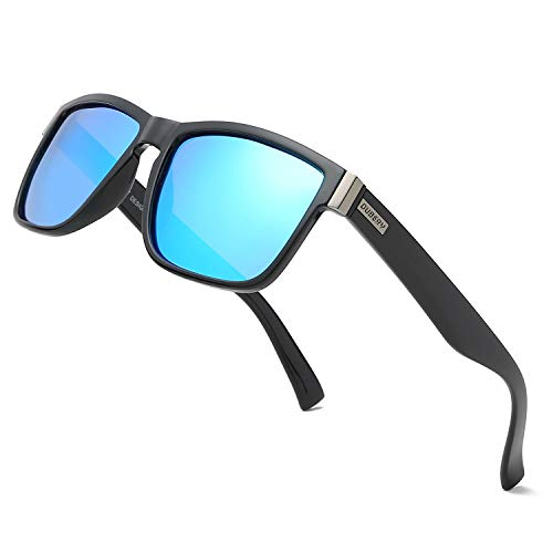 DUBERY Vintage Polarized Sunglasses