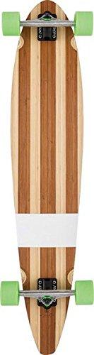 Globe HG Big Pinner Skateboard, Bamboo/Green, Size 44