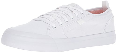 DC Mens Evan Smith TX Skate Shoe-M Evan Smith Tx Skate Shoe-m White Size: 6 D(M) US