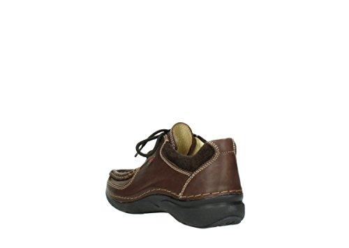 Wolky Comfort Schnürschuhe Rolling Shoe 530 braun leder