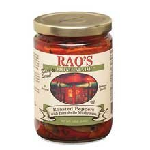 Rao's Homemade Roasted Peppers with Portobello Mushrooms, 12 Ounce Jar