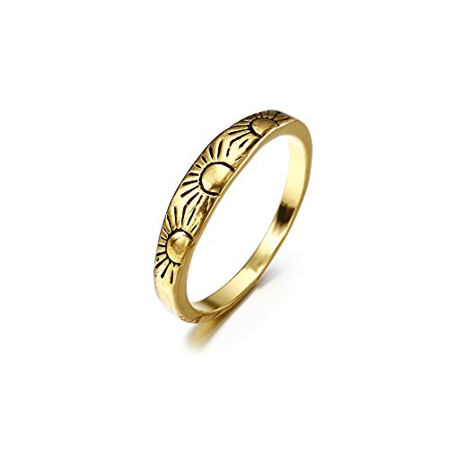en Girls, Clearance Sale! Iuhan Fashion Women Alloy Sun Ring Wedding Party Women Jewelry (8) ()