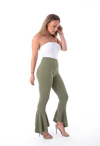 Get The Trend - Pantalón - para mujer caqui