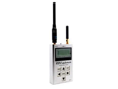 RF Explorer - ISM Combo Handheld Spectrum Analyzer 240 - 960 MHz and 2.35 – 2.55 GHz -
