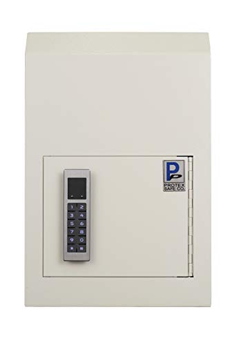 Protex WSS-159E II Through The Door Drop Box with Electronic Lock, Beige
