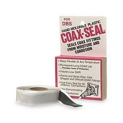 Universal Electronics Original # 104 Coax Seal Hand Moldable Plastic Weather Seal Coax Seal