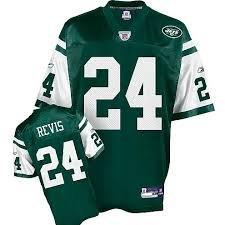 New York Jets NFL fútbol americano Jersey Darrelle Revis #24 - - Mens extragrande -