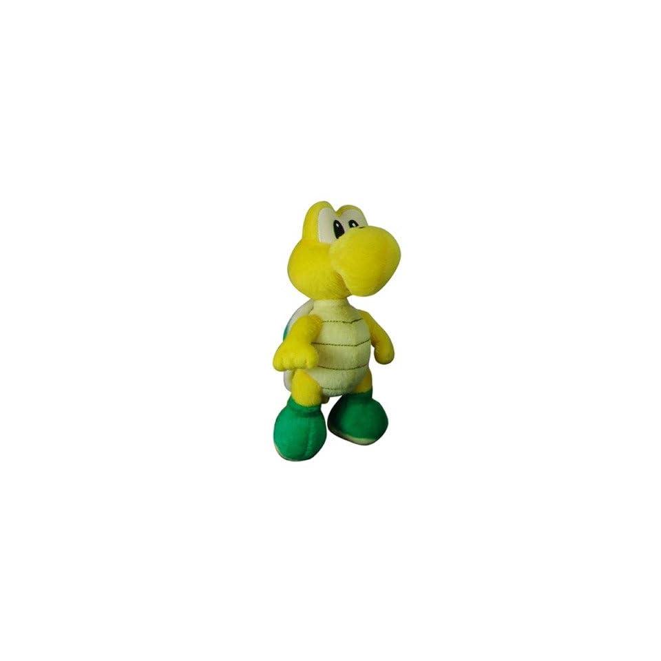 Super Mario Plush   5 Koopa Troopa (Noko Noko) Soft Stuffed Plush Toy Japanese Import