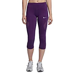 check out be06e 00975 NIKE Women s Power Epic Lux Running Tights Purple 855635 543