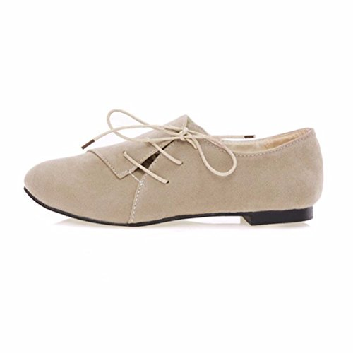 Strap Closed Beige Women's Heels shoes flat girls casual bottomed Toe Pump shoes Ankle Women's shoes crossed Aw1Tg
