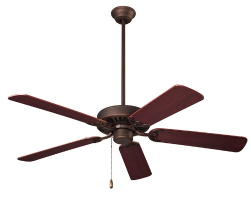 NuTone CFS52RB Energy Star Qualified Dual Blades Ceiling Fan, 52-Inch, Oil Rubbed Bronze (Ceiling Fan Paddles compare prices)