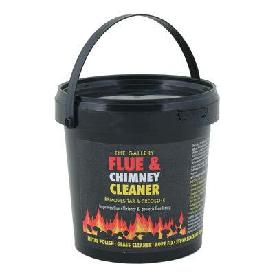Hygiene4less Flue & Chimney Cleaner - 12 x 750g Buckets - Removes Tar & Creosote Maclin