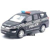 Sheel Police Order Response Innova Crysta Pull Back Car Toy for Kids (Black)