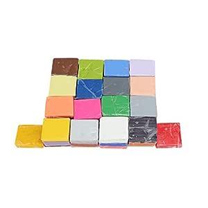 Hilitand Arcilla polimérica, 50 Colores Arcilla de modelar Mano ...