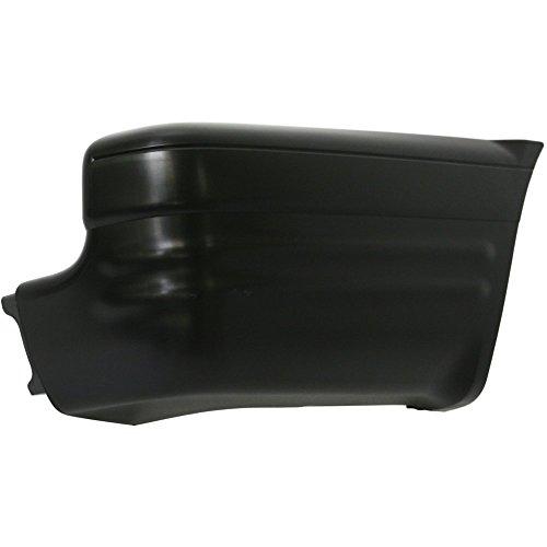 Evan-Fischer EVA17172042162 Bumper End for Isuzu Rodeo 00-04 Rear Primed Right Side Plastic